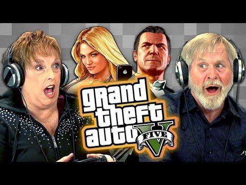 Elders Play Grand Theft Auto V (Elders React: Gaming) - UCHEf6T_gVq4tlW5i91ESiWg