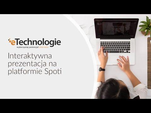 Interaktywna prezentacja na platformie Spoti