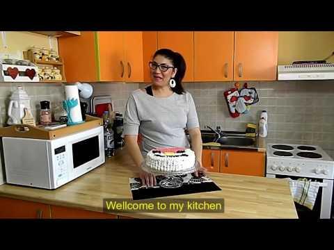 Pesak Torta Recept - Sand Cake Recipe