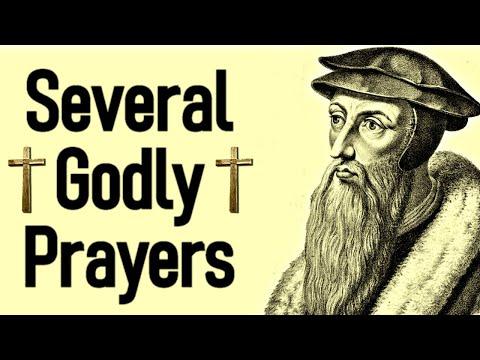 Several Godly Prayers - John Calvin