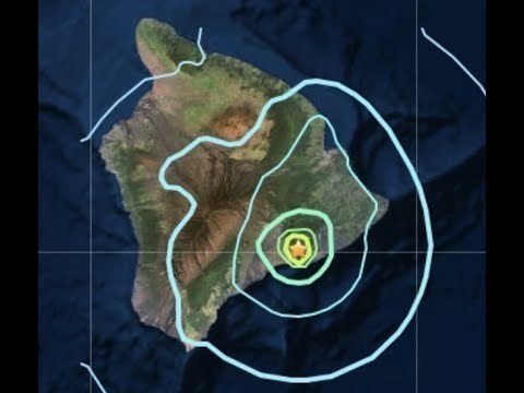 Breaking Hawaii Powerful Earthquake 5.5 Volcanic Fears