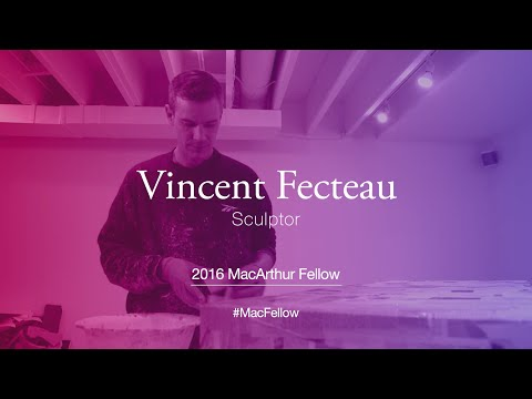 Sculptor Vincent Fecteau | 2016 MacArthur Fellow