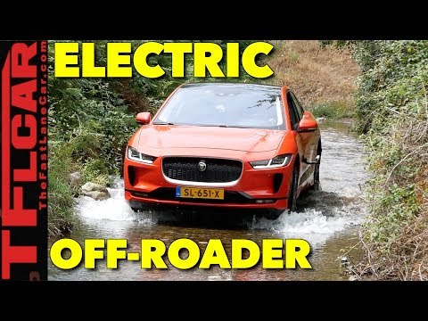 Is The New Electric 2018 Jaguar I-Pace Better Than a Tesla? On AND Off-Road Review
