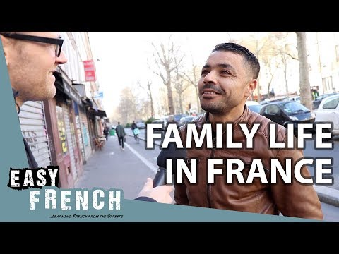Family Life in France | Easy French 85 photo