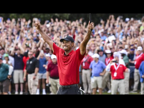 Tiger Woods' best career shots 1996-2019 (excluding majors)