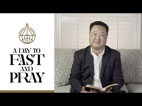 Julius Kim Invites You to A Day of Fast & Prayer on April 4