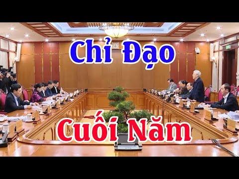 Chính phủ mời Tổng Bí Thư Nguyễn Phú Trọng chỉ đạo hội nghị cuối năm