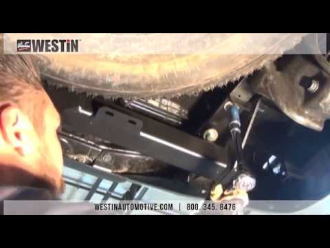 Installation of Westin Receiver Hitch on Toyota Tacoma