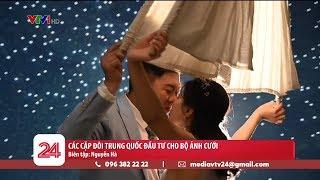 Các cặp đôi Trung Quốc chi mạnh cho các bộ ảnh cưới chụp trong nhà | VTV24
