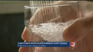 UPDATE: Lead levels in water at some Bradley County Schools higher than EPA allows