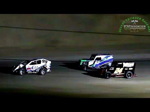 Desert Thunder Raceway Dwarf/Mod Lite Main Event 8/7/21 - dirt track racing video image