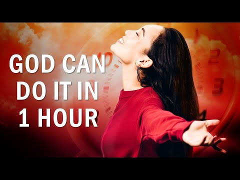 GOD CAN DO IT IN ONE HOUR - MATTHEW 8 - MORNING PRAYER