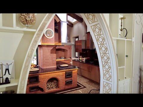 Кухня на дровах - лучшая в России! Построено под моим руководством, по моим рекомендациям!