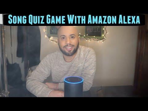 Song Quiz Game With Weed & Amazon Alexa