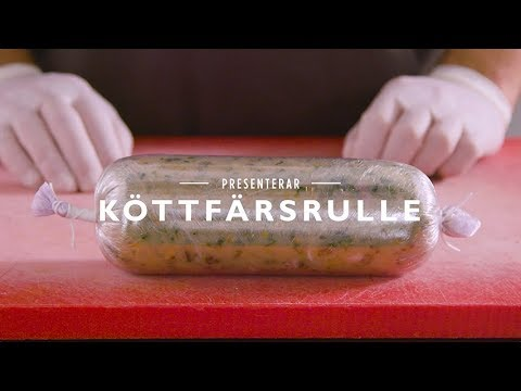 Matlagningstips från Jakob Kofoed - Köttfärsrulle