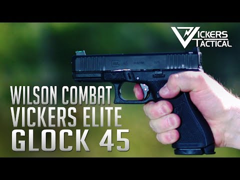 Vickers Elite Glock 45 from Wilson Combat 4K