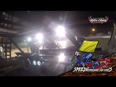 #42 Donnie Jackson - Usra B Modified - 7-23-2021 Dallas County Speedway - In Car Camera - dirt track racing video image