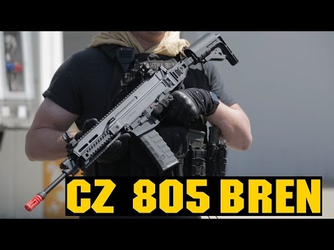 Airsoft ASG CZ 805 BREN Overview! | BREN GIVEAWAY! | AirsoftGI.com