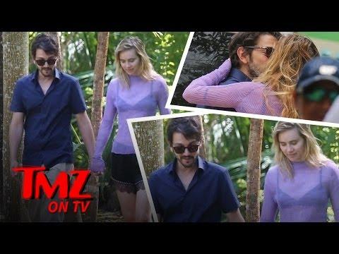 Suki Waterhouse and Diego Luna Pack On The PDA | TMZ TV