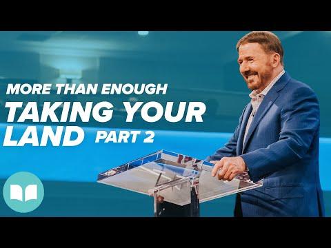 More Than Enough #10  Taking Your Land, Part 2  Mac Hammond