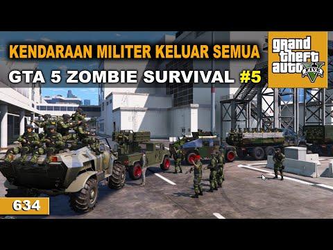 GEREBEK MARKAS MERRYWATHER   GTA 5 ZOMBIE SURVIVAL #634