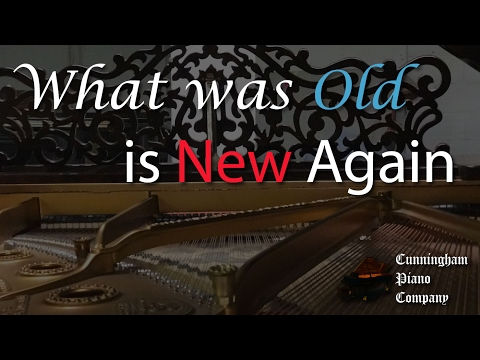 1890's Steinway B - what is old is new again....