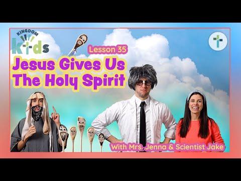 Jesus Gives Us The Holy Spirit  Sojourn Kingdom Kid's  Sunday Morning Lesson  Sojourn Church