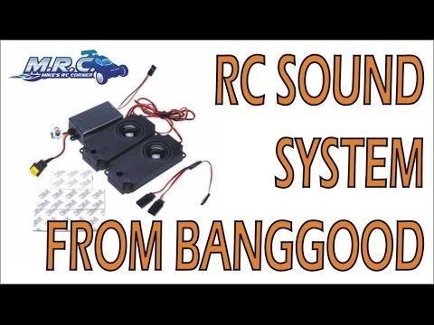 RC Sound System ($34 from Banggood) Demo  EP#87 - UCpan4L04vCyIiexc6RdI8yw