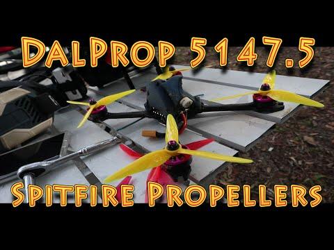 Foxeer Dalprop 5147.5 Spitfire Propeller vs GemFan Propellers Review!!! (12.31.2019) - UC18kdQSMwpr81ZYR-QRNiDg