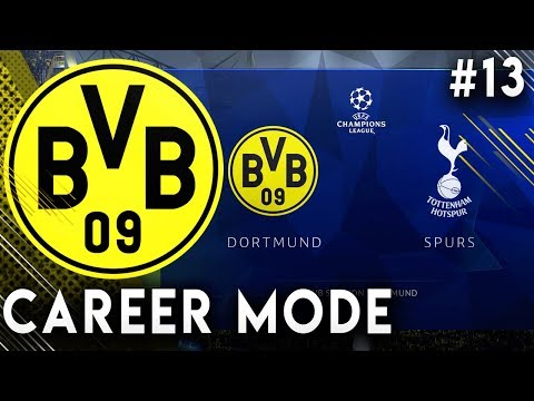 FIFA 19 Borussia Dortmund Career Mode EP13 - Unbelievable Scenes In The Champions League!!