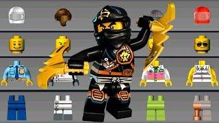 LEGO NINJAGO Build New Helicopter, Monster Trucks, LEGO Cars - LEGO Juniors Create & Cruise
