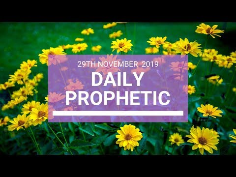 Daily Prophetic 29 November Word 5