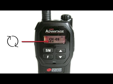AWR Advantage Scanning training