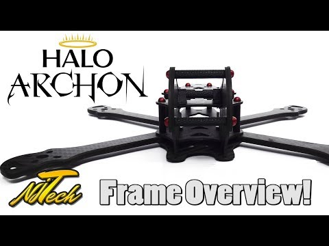 HaloRC Archon FPV Quadcopter  - Frame Overview! - UCpHN-7J2TaPEEMlfqWg5Cmg