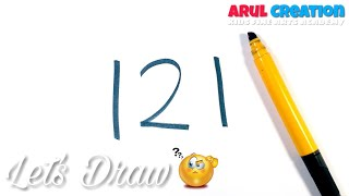 DRAWING!  121- with How to Draw a Little Krishna Janmashtami | Janmashtami Special Drawing | KFAA