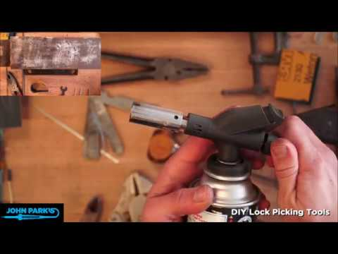 JOHN PARK'S WORKSHOP LIVE 3/1/18 How To Make Lock Picking Tools @adafruit @johnedgarpark #adafruit