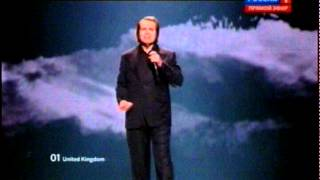 Eurovision 2012 United Kingdom Engelbert Humperdinck Love Will Set You Free Youtube