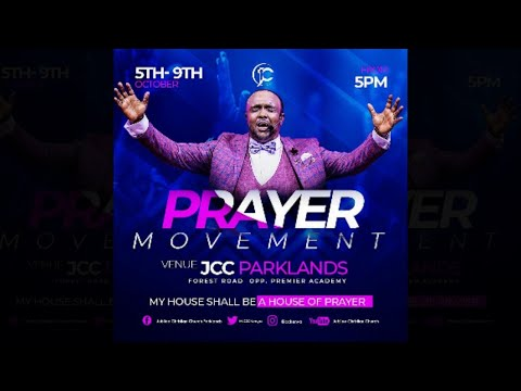 Jubilee Christian Church Live - Prayer Movement Day 5 - 9th Oct 2020  Paybill No: 545700 - A/c: JCC