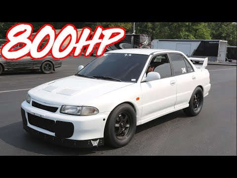 Rare 800HP Lancer Evo 2 in the USA! - 4G63 AWD BEAST