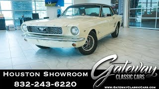 1966 Ford Mustang Gateway Classic Cars #1513 Houston Showroom