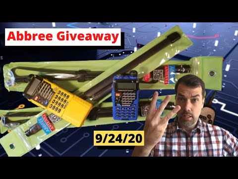 #100 Abbree Antenna Giveaway and 100th video celebration