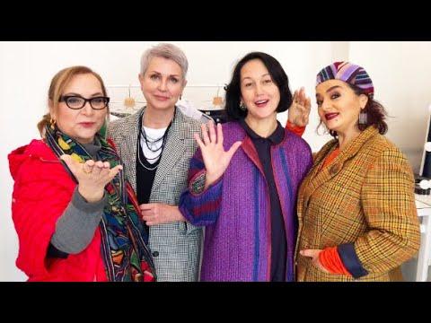 ОБРАЗЫ НА ОСЕНЬ женщин элегантного возраста АУТФИТЫ Как одеваются модницы Петербурга? ЧТО НАДЕТО?