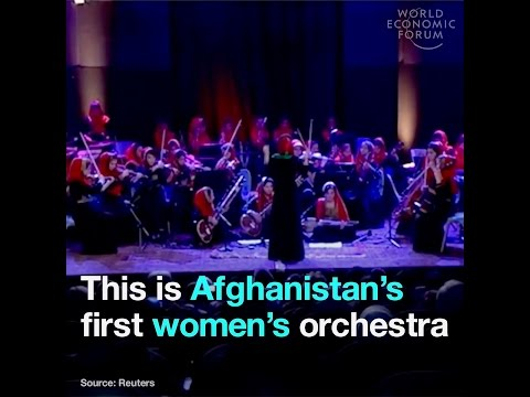 The story of the Afghan women's orchestra