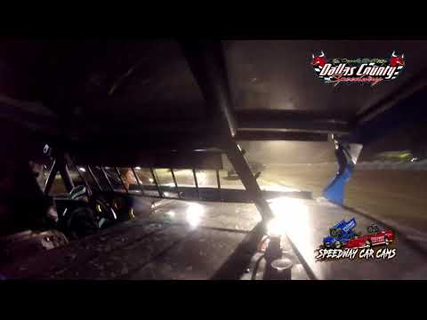 #98 Garet Jones - Midwest Mod - 8-27-2021 Dallas County Speedway - In Car Camera - dirt track racing video image