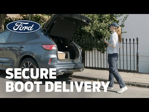 Delivering parcels safely to your Ford car
