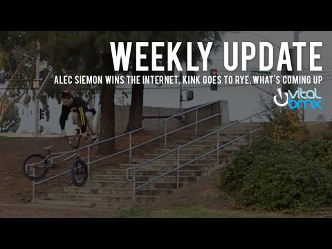 Vital BMX Weekly Update: Alec Siemon Wins the Internet, Kink Goes to Rye