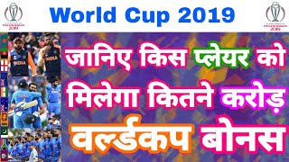World Cup 2019 - Team India To Get Bonus & Salary   Points Table Prediction   MY Cricket Production