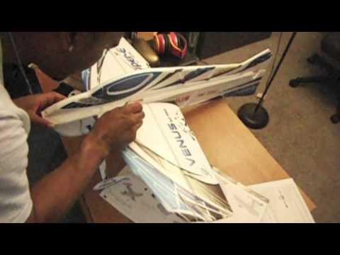 Venus EPO RC Plane unboxing, assembly, and review PART 1 - UCxj7JFcNiunCz1eVsKvOU4g