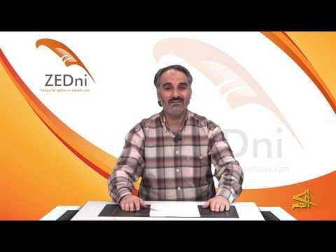 """سلسلة تعليم اللغة التركية مع الدكتور """" محمد زبدية """" الحلقة (18)"""