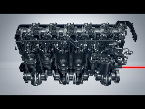 Volvo Trucks ? This is how gas flows in the engine inside our gas-powered trucks